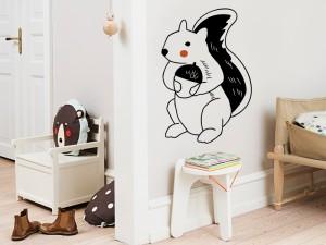 Sticker Petit Écureuil