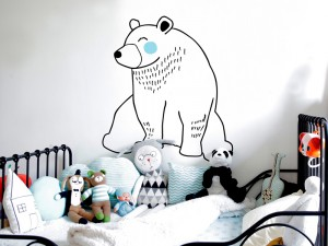 Sticker Petit Ours