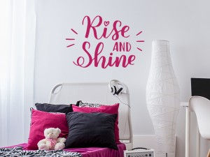 Sticker Rise and Shine