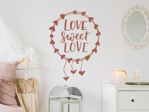 Sticker Love Sweet Love