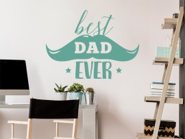 sticker autocollant Best Dad Ever fete des peres