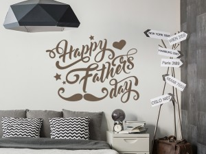 Sticker Happy Fathers Day