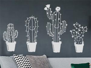 Sticker Pack Cactus Amusants