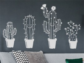 Sticker Pack Cactus Amusants