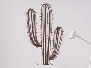 Sticker Cactus Western 2