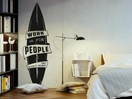 Sticker autocollant Planche de surf 3