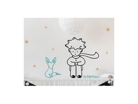 Sticker Le Petit Prince Et Le Renard - Magic Stickers