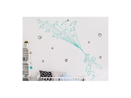 Sticker le petit prince 3 magic stickers - Frise petit prince ...