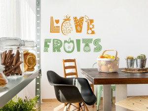 Sticker Love Fruits
