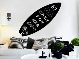 Sticker Autocollant Planche de surf 4