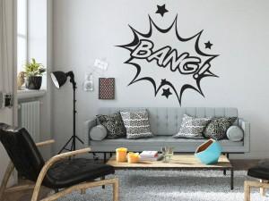 Sticker Pop Art BD BANG!