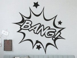 Sticker Pop Art BD BANG!