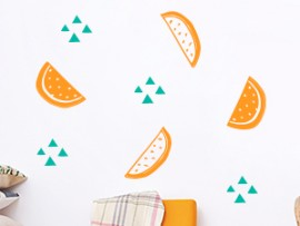 sticker autocollant pack pasteques fruits
