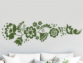 Sticker Ornement Floral Daisy