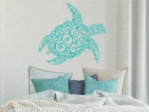 Sticker Tortue Surf