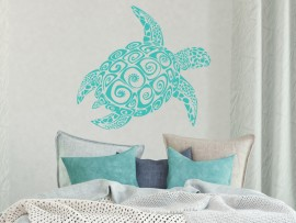Sticker Tortue Surf
