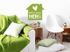 Sticker Home Is Where Mom Is