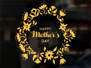 Sticker Happy Mother's Day Floral