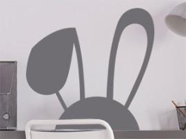 sticker autocollant oreilles de lapin paques