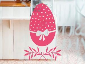 Sticker Oeuf de Pâques Floral