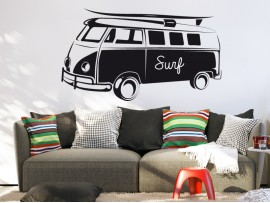 Sticker Van VW Surf