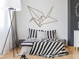 Sticker Oiseau Géométrique 2