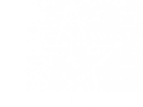 Sticker Etoile Géometrique