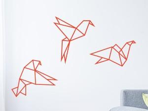 Sticker Pack Oiseaux Géométrique