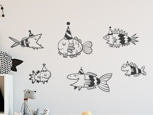 Sticker Pack Poissons Funny