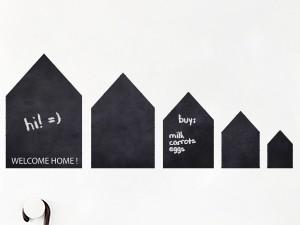 Sticker Ardoises Petites Maisons