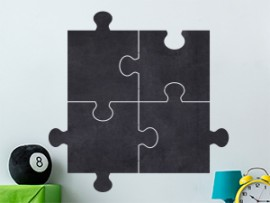 Sticker Ardoise Puzzle