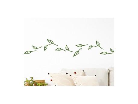 Sticker frise feuilles au vent magic stickers - Frise petit prince ...