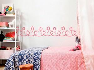 Sticker Frise Petites Fleurs