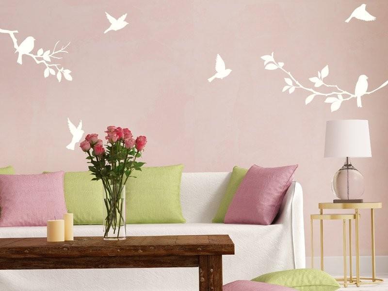 Sticker branches oiseaux magic stickers - Frise petit prince ...