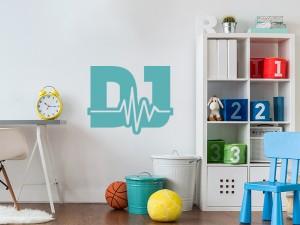 Sticker Musique DJ Electro