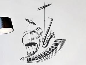 Sticker Orchestre Jazz