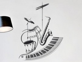 Sticker Orchestre Jazz