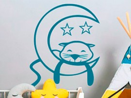 Sticker Chat Lune