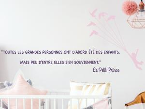 Sticker Citation Petit Prince 4