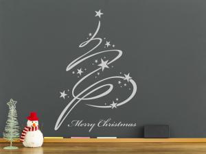 Sticker Sapin de Noël Magique