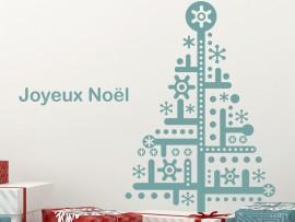 Sapin de Noël Flocons