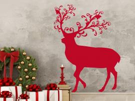 Sticker Renne de Noël