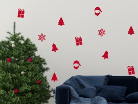Sticker Pack Décoratif de Noël
