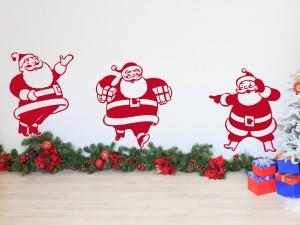 Sticker Pack 3 Père Noël