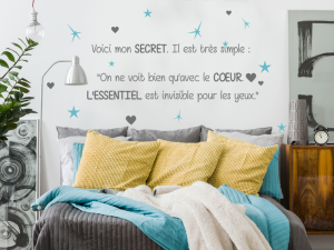 Sticker Citation Petit Prince 5