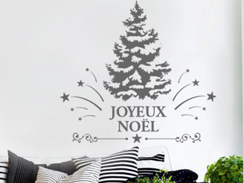sticker ornement sapin de no l magic stickers. Black Bedroom Furniture Sets. Home Design Ideas