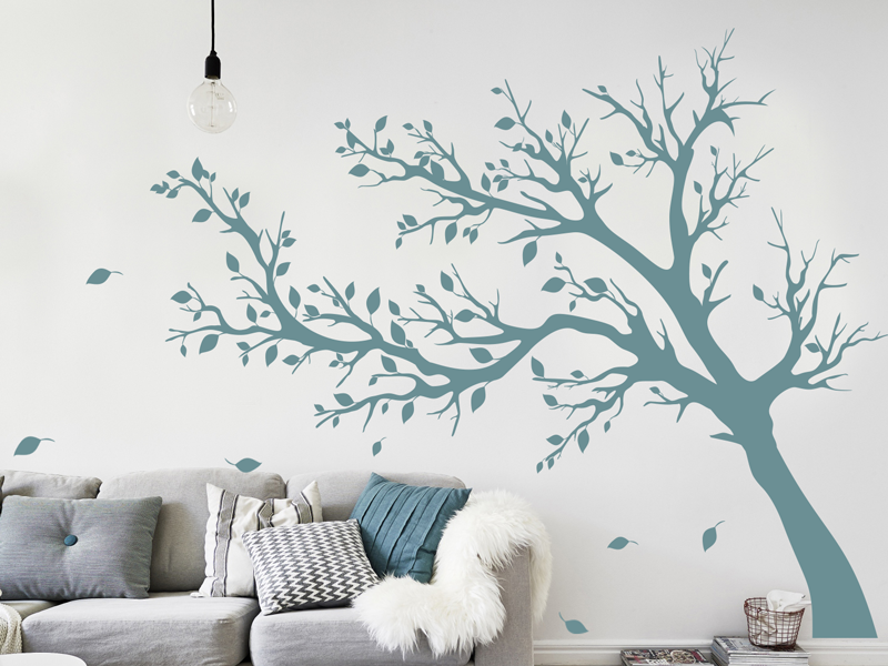 sticker arbre automne 3 magic stickers. Black Bedroom Furniture Sets. Home Design Ideas