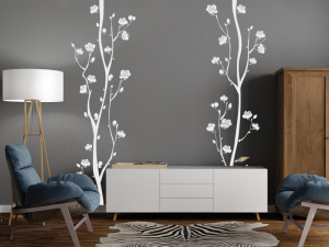 Sticker Fleurs de Cerisier