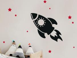 Sticker Fusée 4