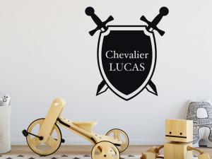 Sticker Bouclier Chevalier